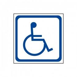 Autocollant Transport Handicapé Petit modèle