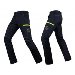 PANTALON ULTIMATE AMBULANCIER MARINE JAUNE FLUO