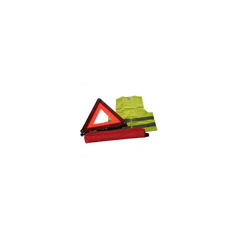 kit triangle gilet de signalisation les dauphins. Black Bedroom Furniture Sets. Home Design Ideas