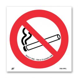 AUTOCOLLANT DEFENSE DE FUMER