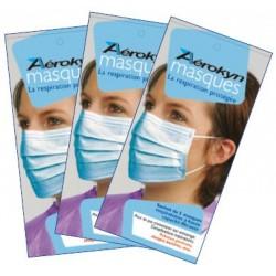 Sachet de 5 masques Haute filtration AEROKYN