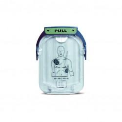 Electrodes cartouches pour défibrillateur HS1 PHILIPS