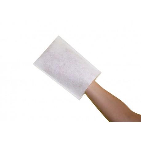 Sachet de 50 gants à usage unique en tissu très doux et non pelucheux.